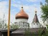 Установка купола и креста 2011